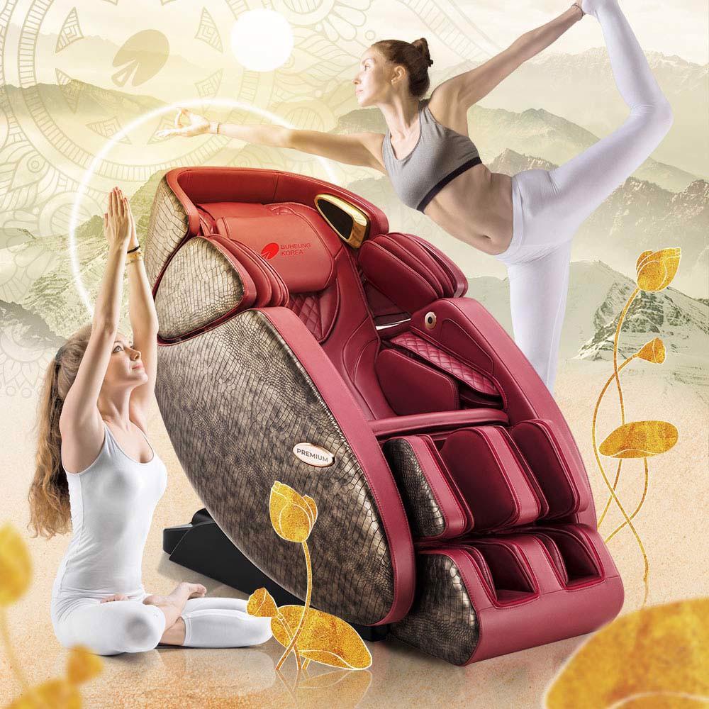 Mã Ưu Đãi Khi Mua Ghế Massage 5D Master Yoga Buheung MK-9200
