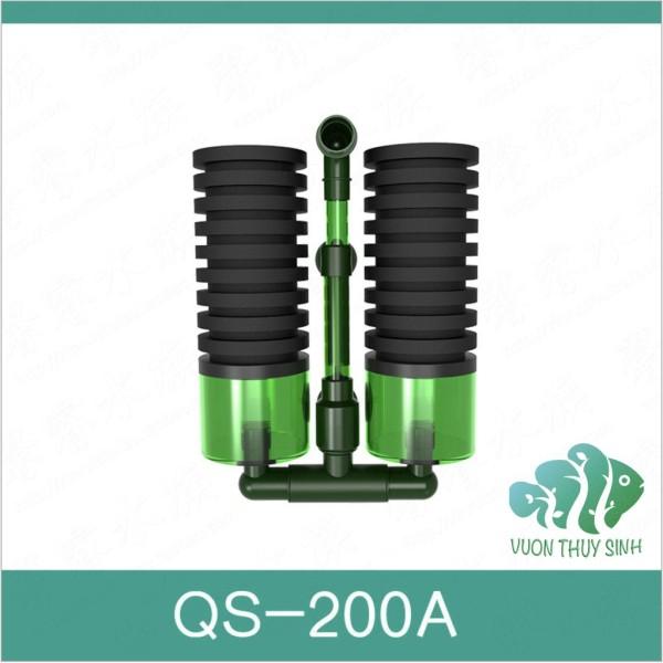 Lọc vi sinh QS100A QS200A có khoang chứa vật liệu lọc sản phẩm tốt với chất lượng và độ bền cao cam kết giống y như hình