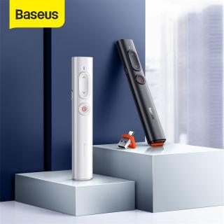 BASEUS Điều Khiển Laser Trình Chiếu Không Dây 2.4GHz USB