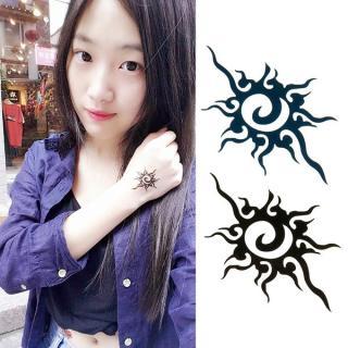 Hình xăm dán tatoo hoa văn kích thước 6 x 10 cm - miếng dán hình xăm đẹp dành cho nữ thumbnail