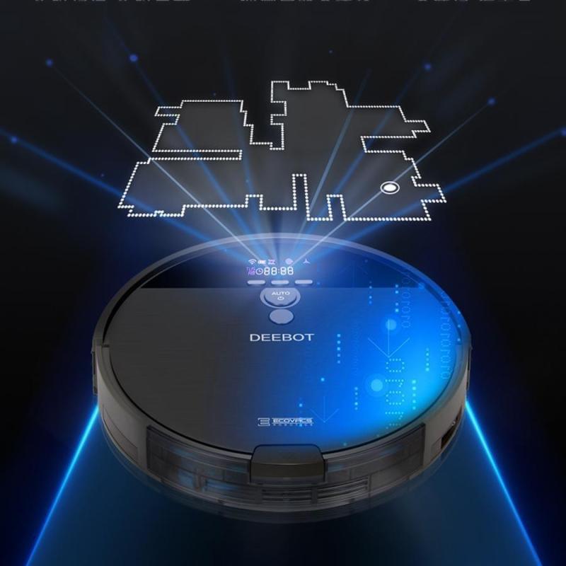 Máy Robot Hút Bụi Lau Nhà Thông Minh Ecovacs Deebot DF45
