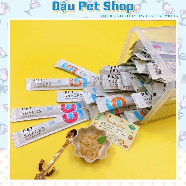 Combo 10 thanh Súp thưởng Pet Snacks cho mèo