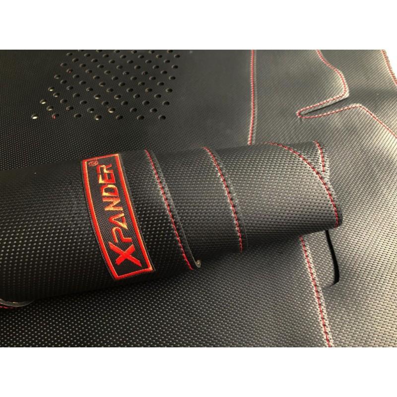Thảm taplo da carbon cho Mitsubishi Xpander