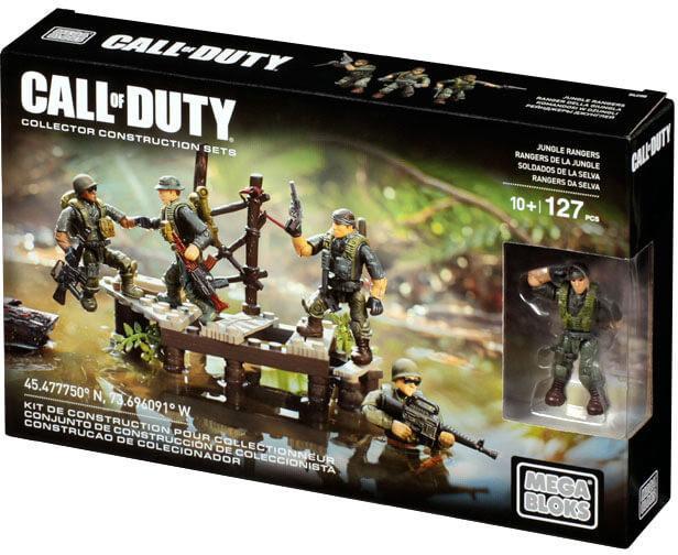 Lazada Khuyến Mãi Khi Mua Mega Bloks Call Of Duty DLC00 - Biệt Kích Rừng - JUNGLE RANGERS