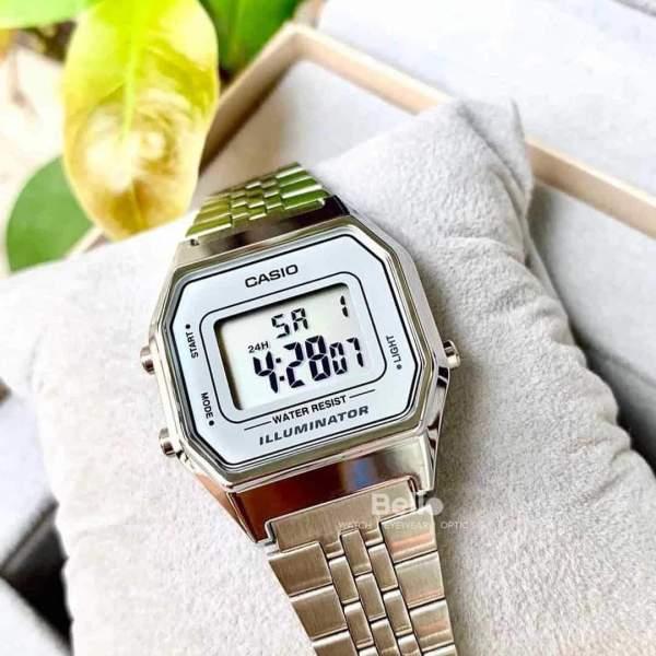 Đồng hồ thời trang nữ Ca.si.o La680 sang trọng , cổ điển , chống nước- KING 88 STORE bán chạy