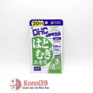 [HÀNG CHUẨN- DATE 3 2023] Viên uống trắng da, đẹp da Hatomugi DHC Coix 20 viên 20 ngày thumbnail