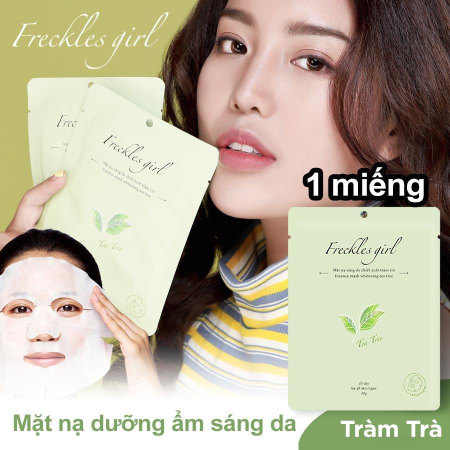 Freckles Girl Mặt nạ Tràm Trà  thiên nhiên dưỡng da trắng sáng mịn màng cấp ẩm, ngăn ngừa lão hoá cao cấp