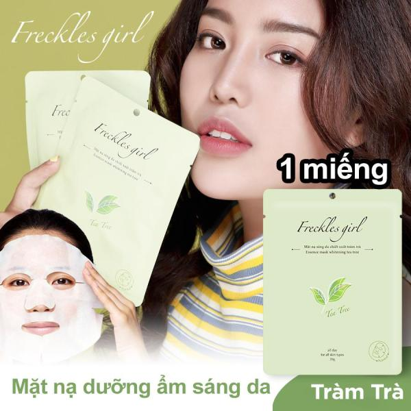 [MIỄN PHÍ VẬN CHUYỂN CHO ĐƠN 50K] Freckles Girl mặt nạ tràm trà thiên nhiên dưỡng da trắng sáng mịn màng cấp ẩm, ngăn ngừa lão hoá nhập khẩu