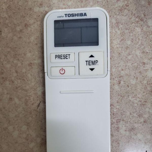 Điều khiển máy lạnh Toshiba loại 4 nút