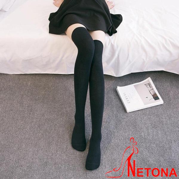 Tất đùi dài cao cổ boot siêu đẹp Hàn Quốc NE09(Kèm ảnh thật)