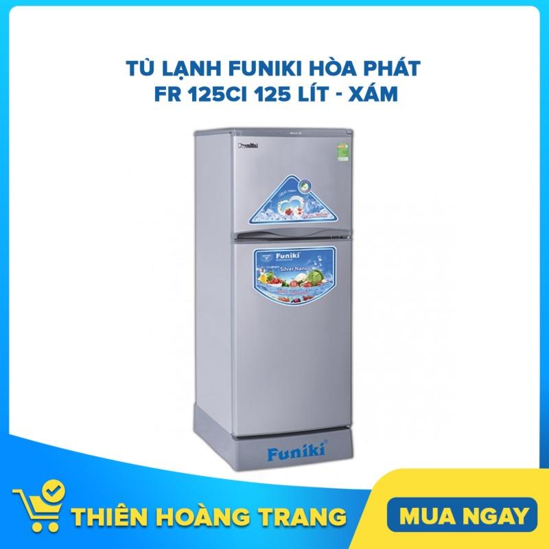 Tủ lạnh Funiki Hòa Phát FR 125CI 125 lít - xám