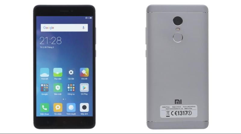 Điện Thoại Xiaomi Redmi Note 4 - Ram 3Gb, Bộ nhớ 32Gb, Màn Hình 5,5 in, Full HD, Pin 4.100 mAh. Tặng Theo Máy gậy chụp hình, ốp lưng, Cường Lực.