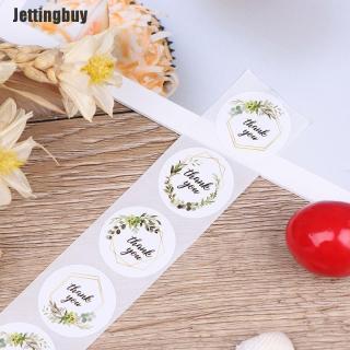 Jettingbuy 500 Cái Cuộn Cảm Ơn Bạn Dán Cho Nhãn Niêm Phong Miếng Dán Trang Trí Niêm Phong thumbnail