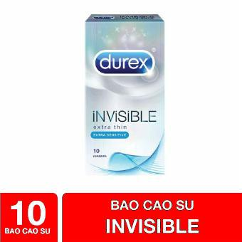 Bao Cao Su Durex Invisible 12 Condoms