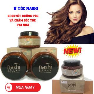 Hấp Dầu Collagen, Ủ Tóc Tại Nhà, Hấp Tóc Phục Hồi. ủ tóc nashi giúp dưỡng tóc phục hồi hư tổn, làm tóc bóng, mềm giảm xơ rối, khuyến mại sale 50%.. thumbnail