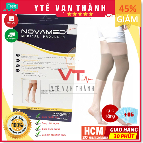 ✅ [ĐẦU GỐI-1 CHIẾC] Vớ Suy Giãn Tĩnh Mạch (Tất Y Khoa): Novamed (Made In Thổ Nhĩ Kỳ) - [Y Tế Vạn Thành] - Mã SP: VT0022 cao cấp