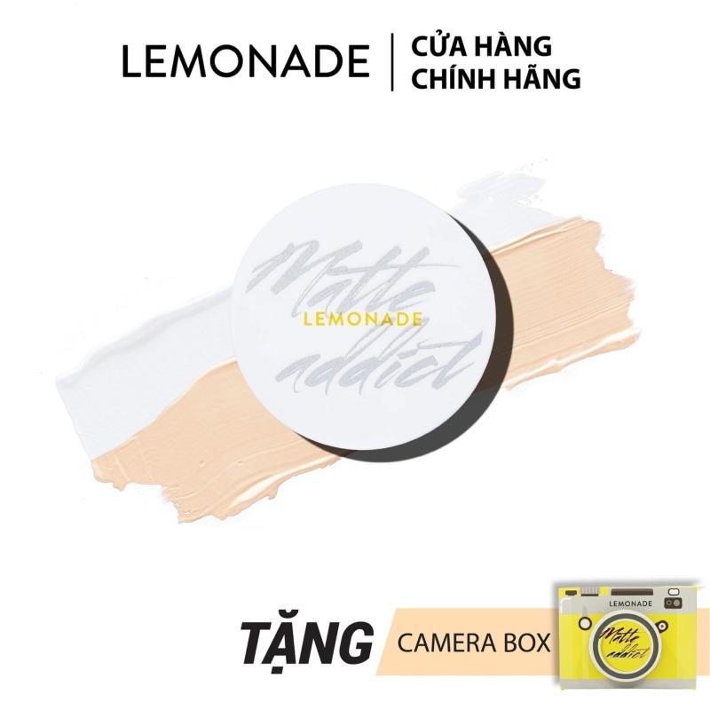 Phấn nước kiềm dầu Lemonade Matte Addict Dual Cushion 16g