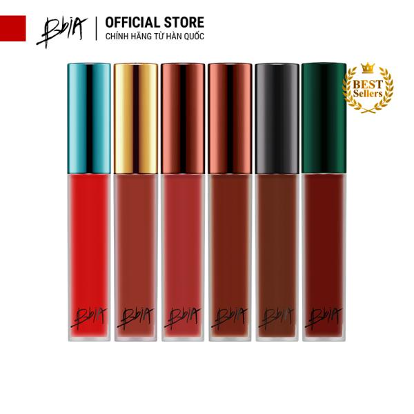 Son kem lì Bbia Last Velvet Lip Tint - Màu HOT nàng yêu (02, 12, 25, 38, A5) 5g - Bbia Official Store giá rẻ