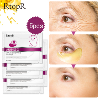 5 Gói mặt nạ mắt RtopR chiết xuất xoài chứa vitamin C xoá quầng thâm nếp nhăn thumbnail