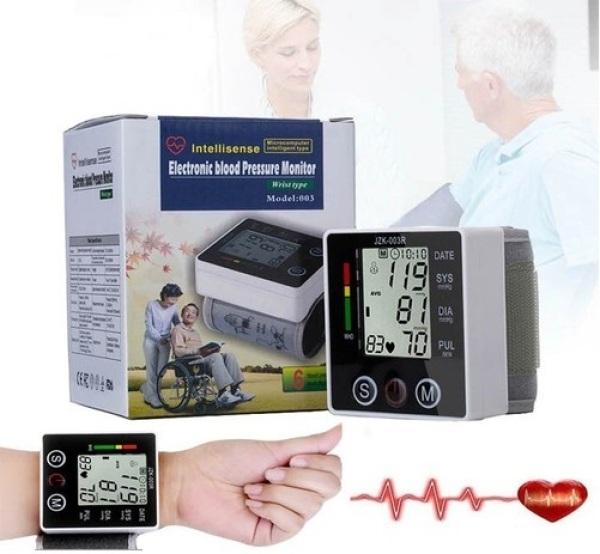 Nơi bán Máy đo huyết áp cổ tay Chính hãng CHLB Đức tiêu chuẩn WHO độ chính xác cao JZK 003R cao cấp - Bảo hành 12 tháng