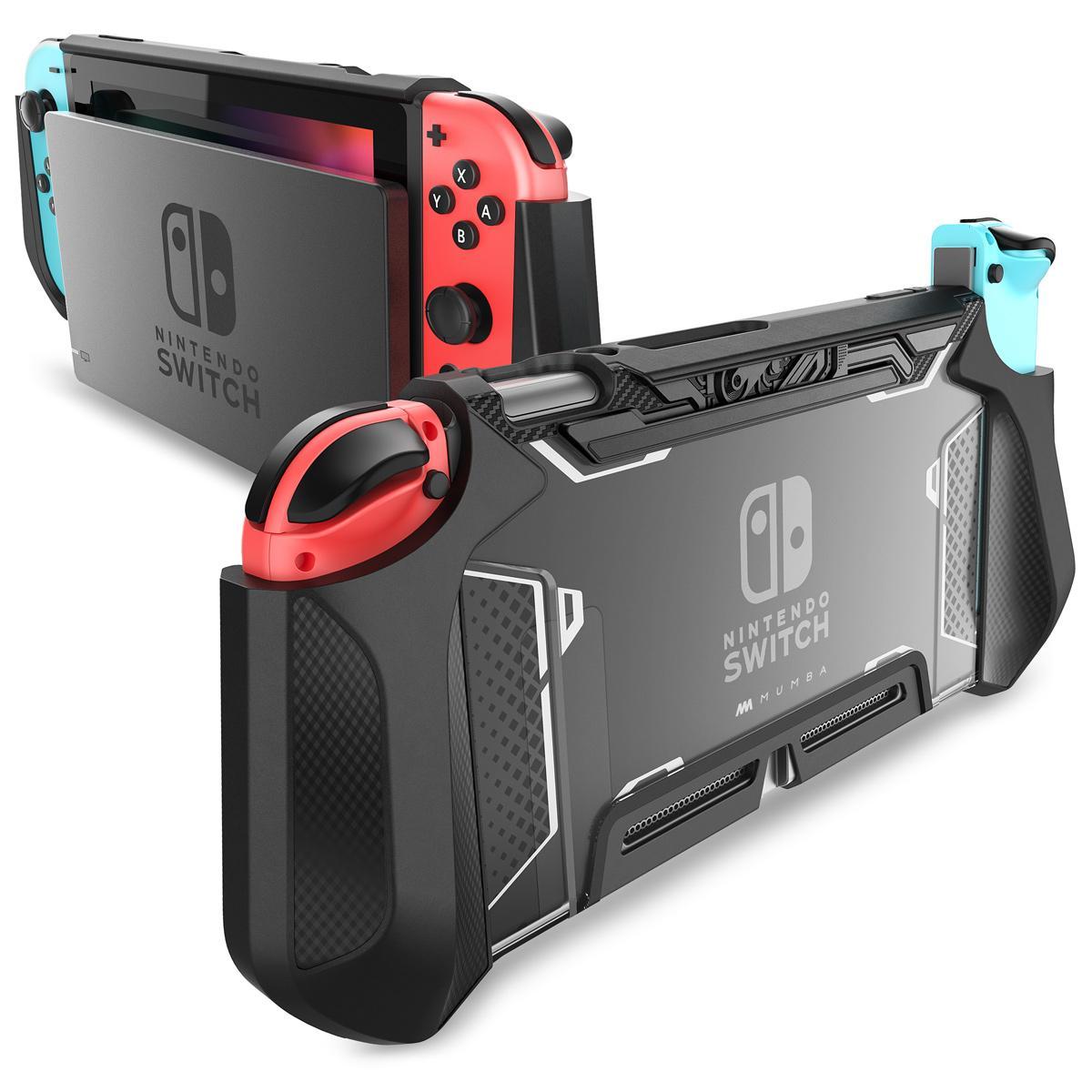 Dockable dành cho Máy Nintendo Switch BẢO VỆ Mumba TPU Cầm Vỏ Ốp Lưng Bảo Vệ Tương Thích với Nintendo Công Tắc Tay Cầm và Joy-Con bộ điều khiển Nhật Bản