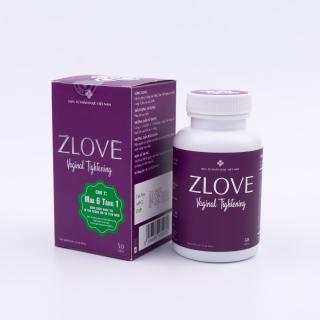 Zlove - Hỗ trợ se khít vùng kín, tăng cường sức khỏe phụ nữ sau sinh thumbnail