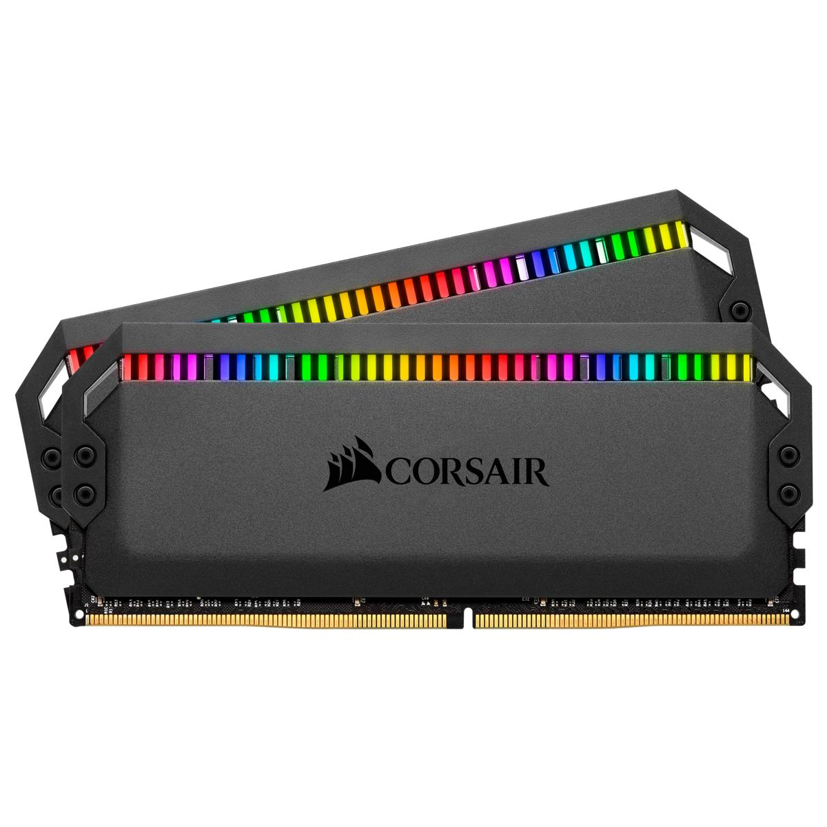 Ram Corsair Dominator Platinum RGB 16GB (2 x 8GB) DDR4 Bus 3200 C16 Optimized for AMD Nhật Bản