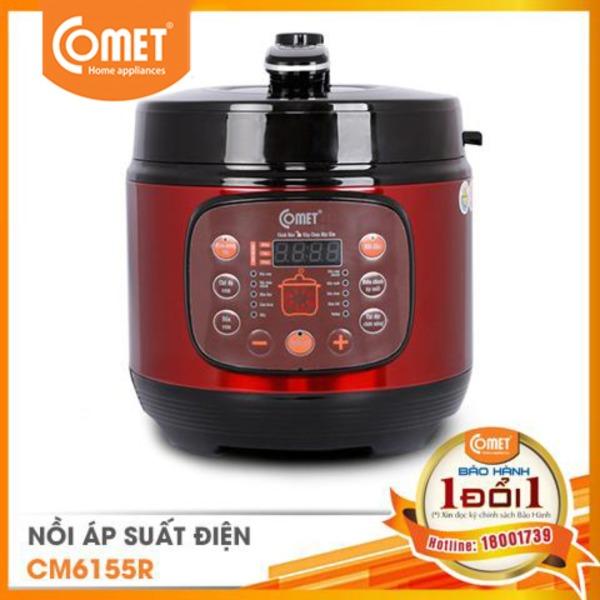 Nồi áp suất điện nắp rời COMET - CM6155- 6.0L - Hàng Chính Hãng