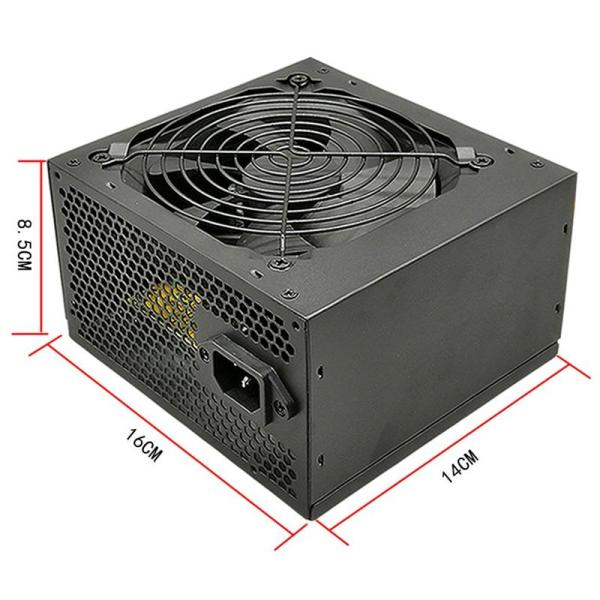 Bảng giá Rated 275W Chassis Power Supply Desktop Power Supply Supports Dual Image 6+2 Interface Wide Power Supply Us Plug Phong Vũ