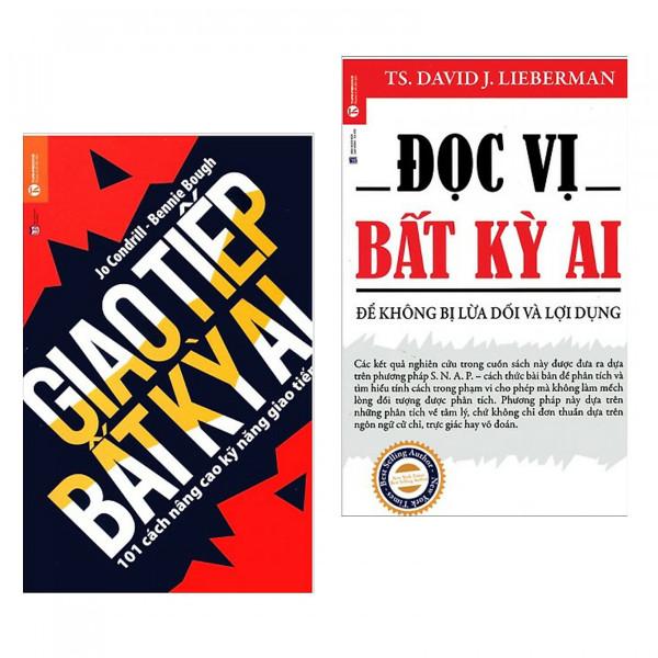 Combo 2 cuốn kỹ năng làm việc số 1: Đọc Vị Bất Kỳ Ai + Giao Tiếp Bất Kỳ Ai (tặng kèm bookmark )