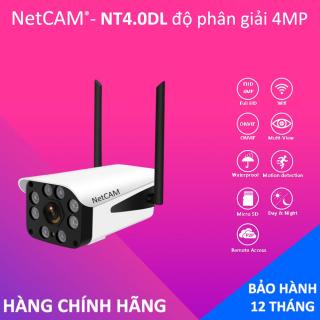 Camera giám sát IP wifi ngoài trời NetCAM NT4.0DL 4MP - Hãng Phân Phối Chính Thức - Bảo hành 12 tháng thumbnail