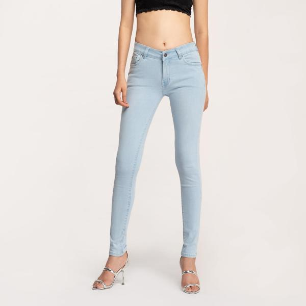 Quần Jean Nữ Skinny Lưng Vừa - AAA JEANS
