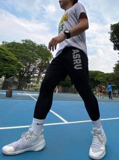 Quần tập gym nam 2 lớp legging ASRV chất vải train life,đồ tập gym nam chất thumbnail