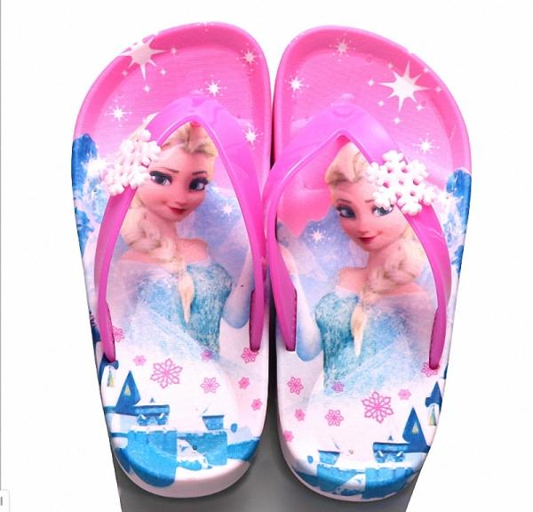 Giá bán Dép xỏ ngón Elsa cho bé gái mùa hè điệu đà xinh xắn - DT79
