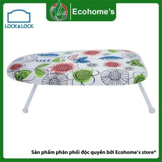 Bàn để ủi quần áo dáng ngồi Ecohome s, cầu là quần áo thiết kế nhỏ gọn khung thép bọc chân nhựa tạo kết cấu chắc chắn chống trầy xước bề mặt sàn mặt là chát liệu cotton thoáng khí êm ái không lem màu thumbnail