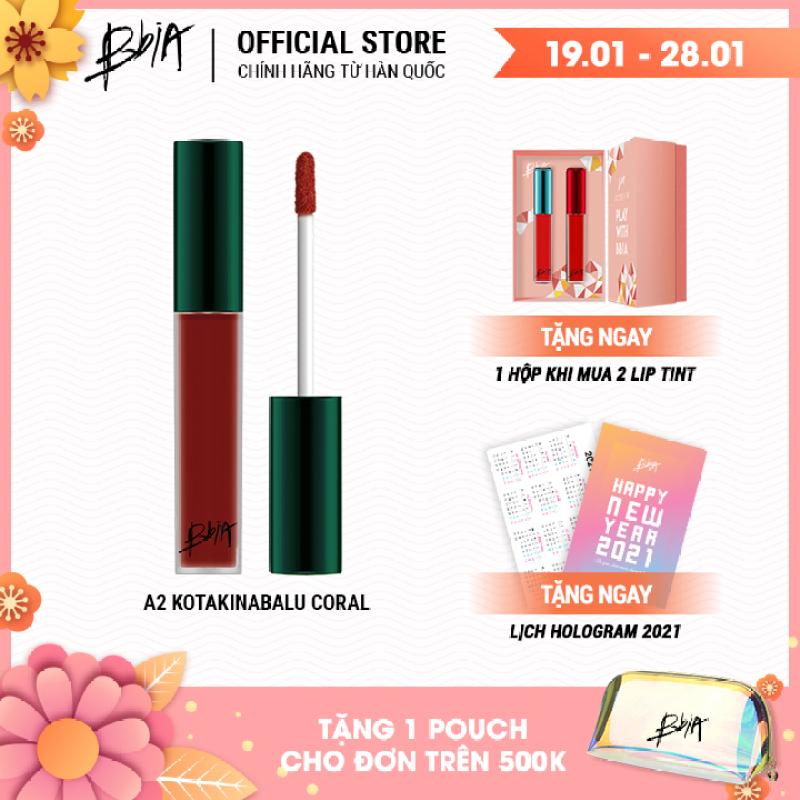 [Chọn màu] Son kem lì Bbia Last Velvet Lip Tint ASIA EDITION 5g ( 5 Màu )
