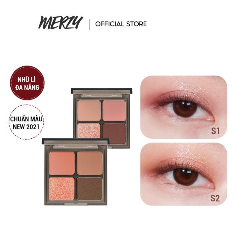 Bảng Phấn Mắt 4 Ô Merzy Mood Fit Shadow Palette 8g giá rẻ