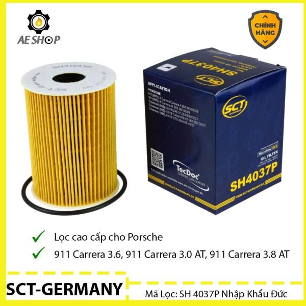 Lọc Dầu Ô Tô Porsche 911 Carrera, Panamera,Cayenne Turbo SCT-GERMANY SH SH 4037P Nhập Khẩu Đức [Chính Hãng]