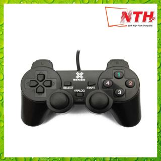 TAY GAME ĐƠN RUNG SENZE SZ 702 (EW702) ĐEN thumbnail