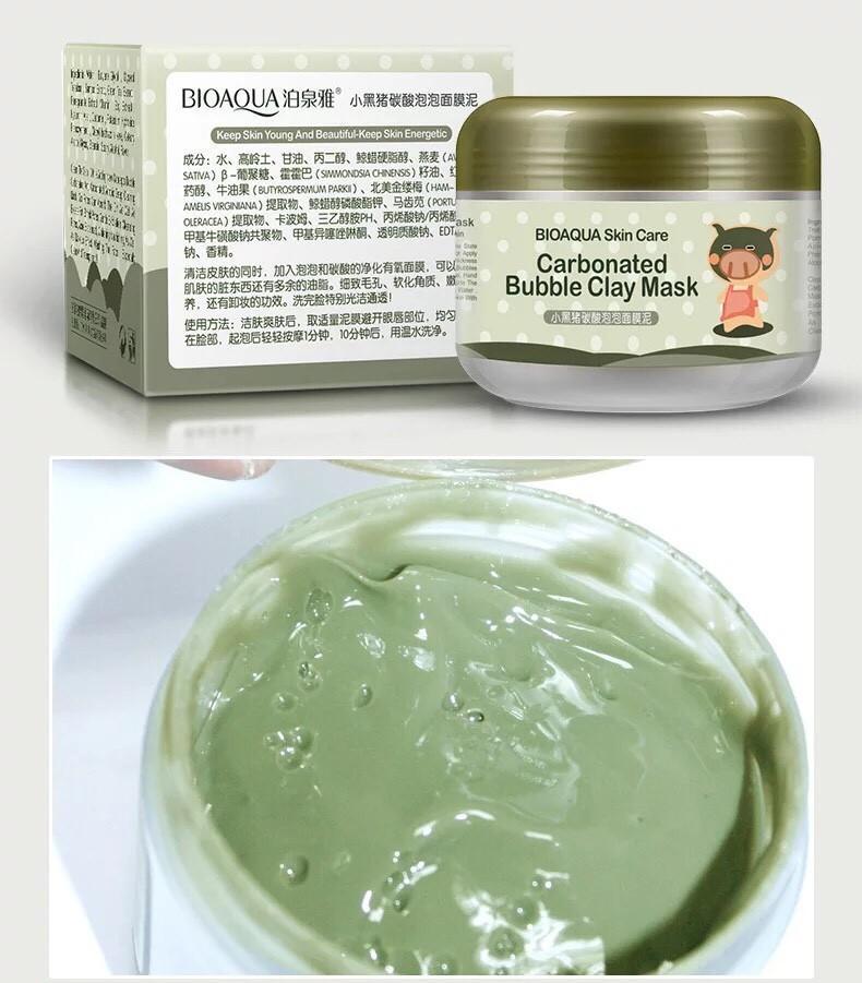 Mặt nạ sủi bọt thải độc Carbonated Bioaqua nhập khẩu