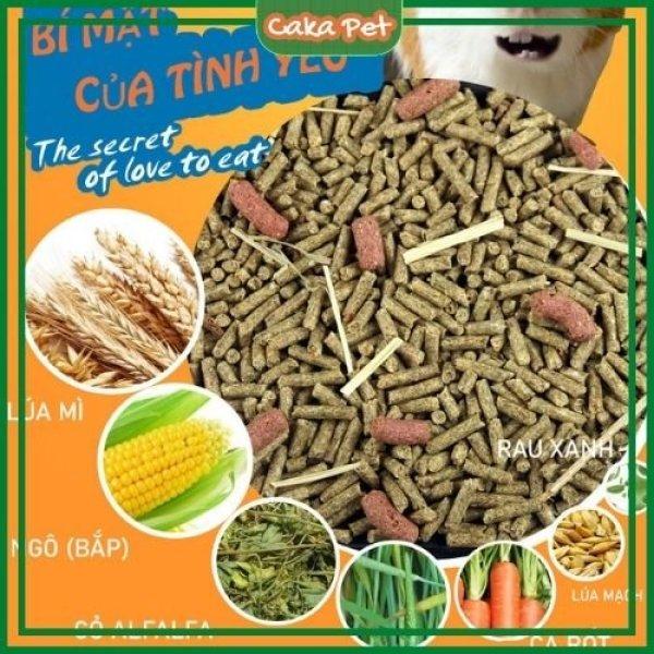 Thức ăn cho chuột lang, bọ ú 🐹Có thêm Vitamin C, thảo mộc ngăn ngừa tiêu chảy 🐹 Date 2022, không trộn tạp
