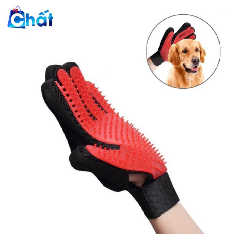 Găng tay chải lông cho thú cưng chuyên dụng 011