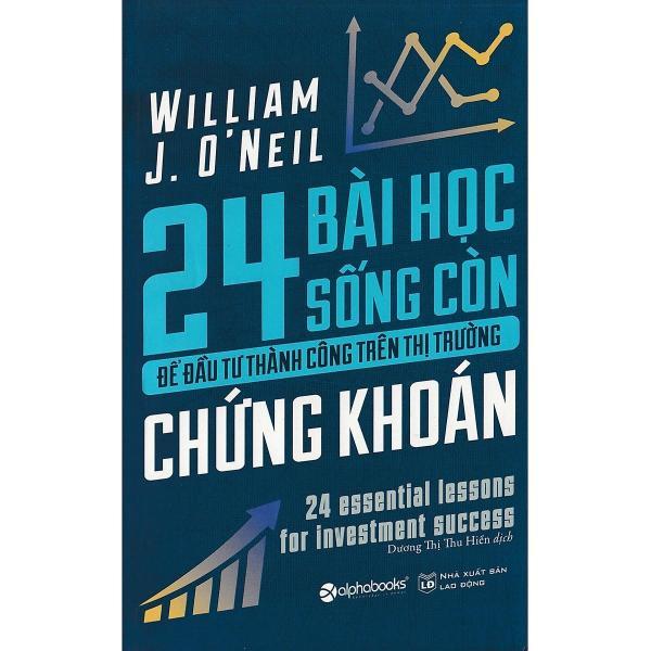 Mua Sách -  24 Bài học sống còn để đầu  tư thành công trên thị trường chứng khoán
