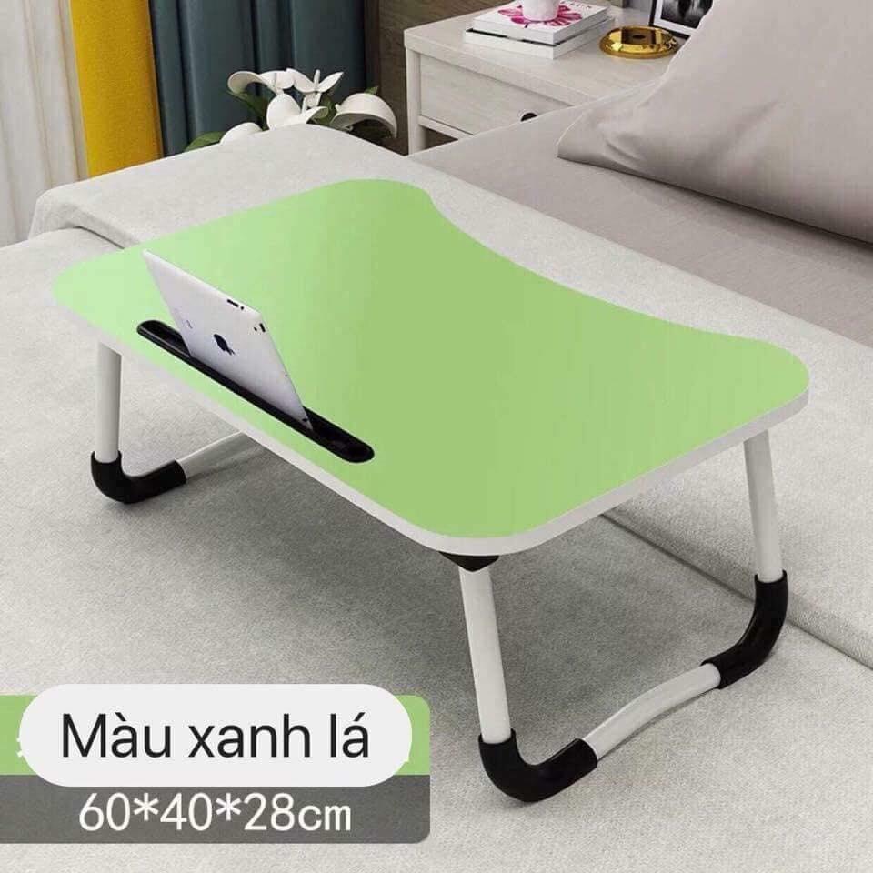 [NHIỀU MÀU] Bàn học thông minh gấp gọn có khe để ipad VegaBuy, chân thép có đế chống trơn trượt – Kích thước : 60 x 40 x 28 cm, TIỆN DỤNG, ĐA NĂNG , Bàn học gấp gọn có khe để ipad , bàn gấp thông minh ( Được chọn màu )