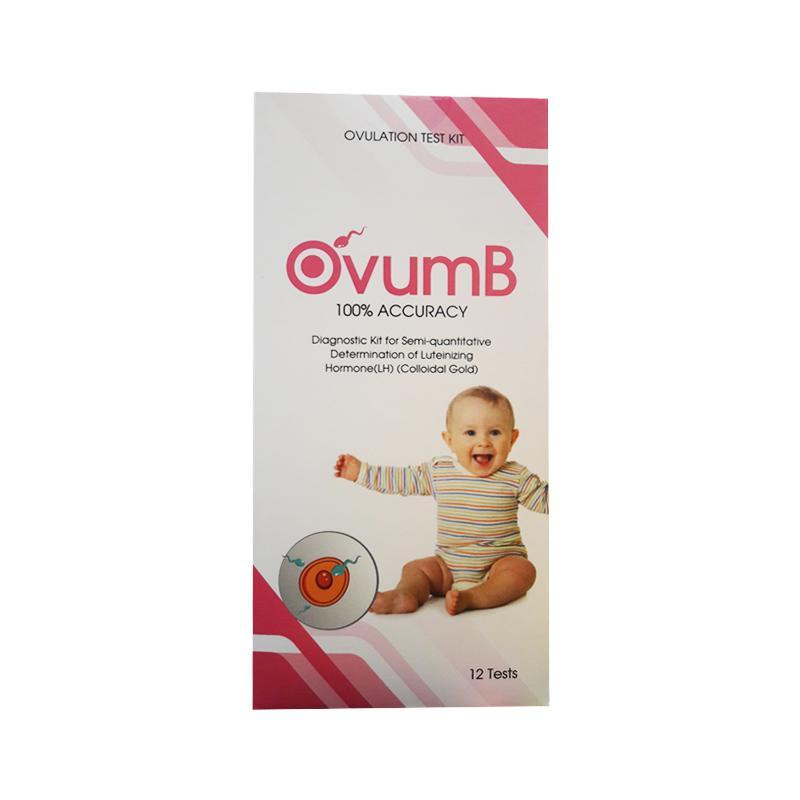 Que thử rụng trứng bán định lượng OvumB - xác định nồng độ LH trong nước  tiểu - hộp 12 que | Lazada.vn