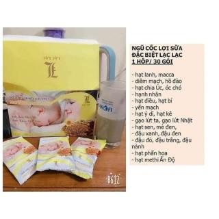 Ngũ cốc lợi sữa đặc biệt Lạc Lạc-30 góihộp thumbnail