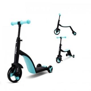 Siêu xe Nadle 3 trong 1 vừa làm xe đạp, xe chòi chân, xe scooter Joovy TF3 cho bé từ 2 tuổi trở lên thumbnail