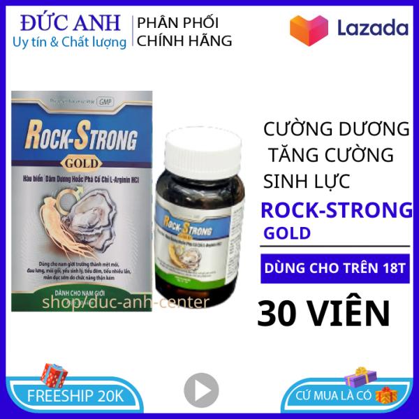 Tăng cường sinh lý nam Rock Strong tinh chất hàu tảo biển đỏ 30 viên HSD 2024- tang cường sinh lý nam-sinh-  hỗ trợ sinh lý nam- tăng cường sinh lí nam ly nam-yếu sinh lý nam -tang cường sinh lý nam-tăng cuong sinh ly giá rẻ