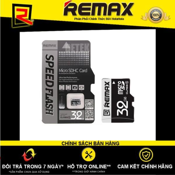 Thẻ nhớ Micro SDHC Remax 32GB Class 10 - Hãng Phân Phối Chính Thức