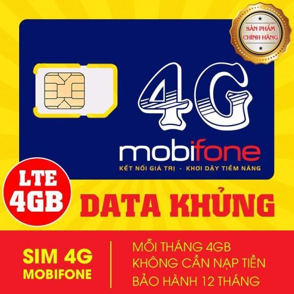 Sim 4G Mobifone MDT250A Trọn gói 1 năm giống F500 (4GB/Tháng) - SIM MDT250A